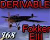 J68 Fokker EIII Derivabl