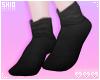 塩. Black Bunny Socks.