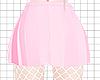 Av! Pink Skirt + Fishnet