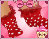 !  Mouse Red Socks