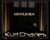 [KC]GENTLEMEN BATH DOOR