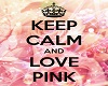 Love Pink Bed