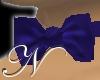 ~N~ Blue Silk Bowtie (M)