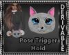 Kitty Hand Muffs M/F DRV