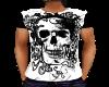 Skull tee shirt