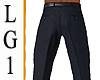 LG1 Blue Suit Slacks