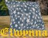 Elw - Blue/Star Pillow 2