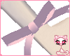 Pink bow for wrist
