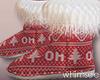 Christmas Jams Fur Boots