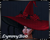*Jinx Red Witch Hat