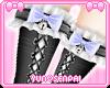 ♡ Black Maid Socks v2