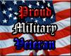 Proud Military Veteran