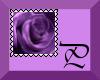 Purple Rose Stamp