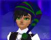 Elf Knit, Purple Green M