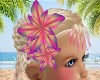 Psychedlic Hair Flower