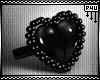 -P- PVC Heart Ring /L