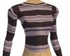 Blanco striped sweater
