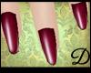 {D} Plum Nails