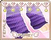 <3 Lusty's Purple Socks