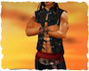 Pirate black waistcoat