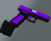 Purple Glock-18 Ext.Mag