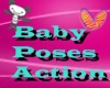 Baby Hold poses Actions