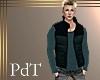 PdT Blk&Slate Puff Vest
