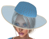 Dazey Blue Hat