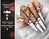 $ Amore Nails White