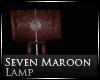 [Nic]Seven Maroon Lamp