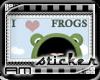 [AM] Love Frog Sticker