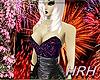 HRH Sequins Black&Gold