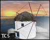 Greek island windmill