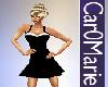 CM! Tina dress whitetrim