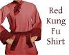 Red Kung Fu Shirt