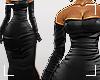 ṩSatin Dress black