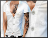 White Muscle shirt