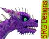 Purple Raven pen Dragon