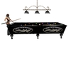 Led Zepplin Pool Table