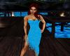 Longer Blue Dress