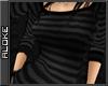 *AK* Striped Long Top Bl
