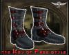 [Free]Boots Pain DarkRed