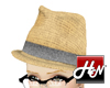 [HN]Straw Hat/Grey Label