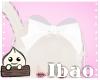 White Sheer Bow[Bao]
