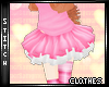 {S} Pink White Tutu