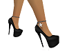 Black Star Sparkle heels