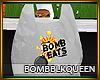 Bomb Eats Bag