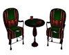 Christmas Coffee Chairs