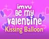 Valentine KissingBalloon