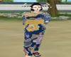 [DD] blue kimono